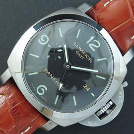 スーパーコピーパネライ ルミノール GMT PAM320, Asian 7750ムーブメント搭載!