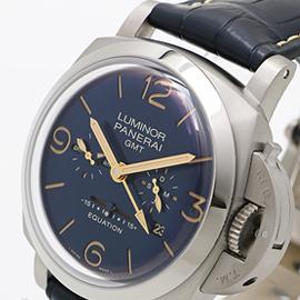 パネライ ルミノール 1950 イクエーション オブ タイム 8デイズ GMT チタニオ PAM00670