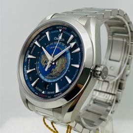 オメガ 2021新品 コピー時計 シーマスター アクアテラ GMT ワールドタイマー 220.10.43.22.03.001