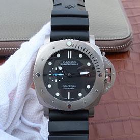 パネライ コピー時計 ルミノール1950 サブマーシブル 3デイズ オートマティック チタニオ PAM01305 (NOOB製造V9版)