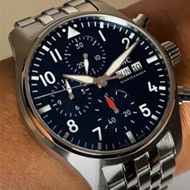 メンズコピー腕時計 IWC パイロット・ウォッチ・クロノグラフ IW388102.41mm