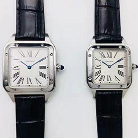【カップル腕時計】新品 カルティエ コピー サントス デュモン WSSA0022 レディス