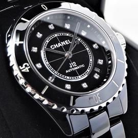 シャネルコピー時計 ジェイ トゥエルヴ H5702 ブラック セラミック 38mm